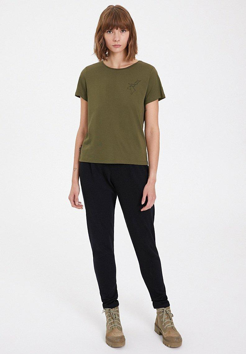 Damen WINTER DEER - T-Shirt basic