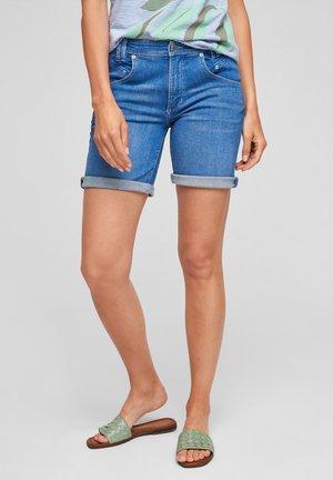 Denim shorts - medium blue