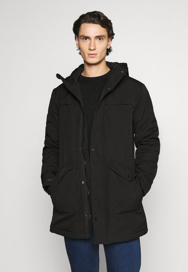 LYNGDAL - Winter coat - black
