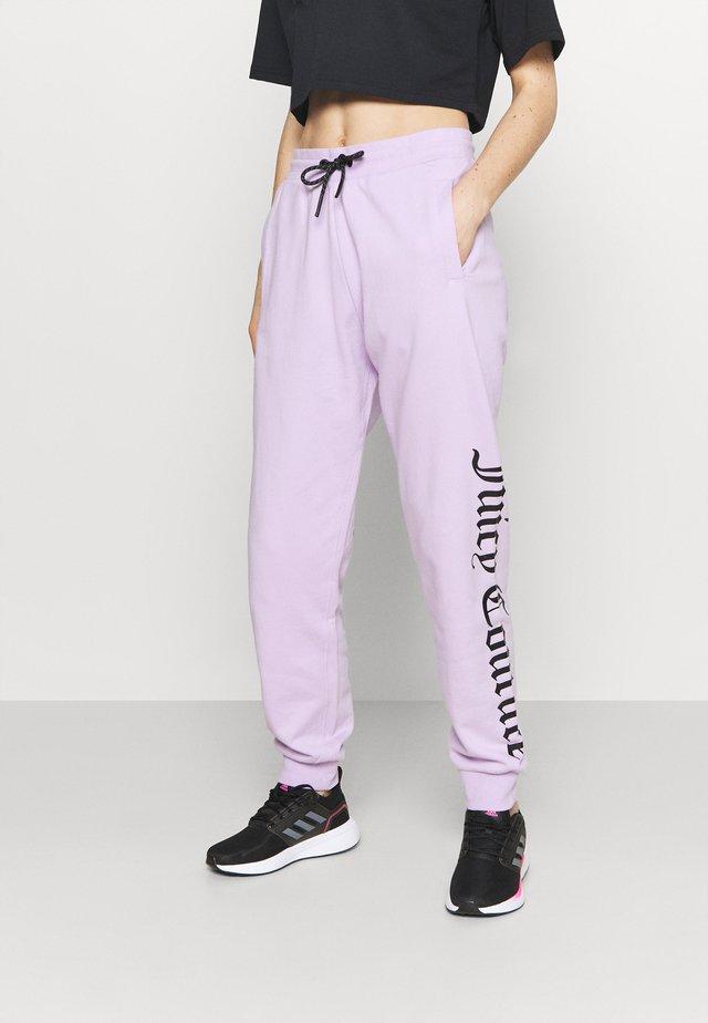 IVY JOGGERS - Pantalon de survêtement - pastel lilac