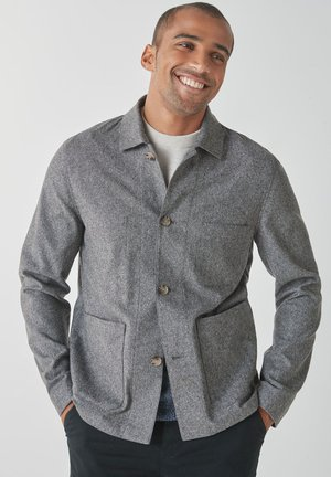 HERRINGBONE WORKER - Light jacket - grey