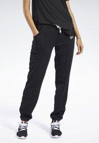 Reebok - PANT - Teplákové kalhoty - black - 0