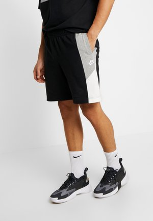 Shorts - black/grey heather