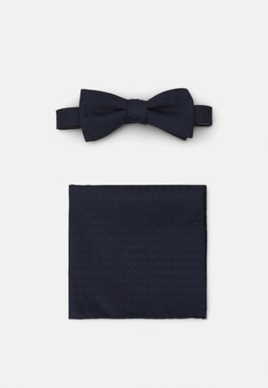 SLHLANDON BOWTIE GIFTBOX SET - Pocket square - maritime blue