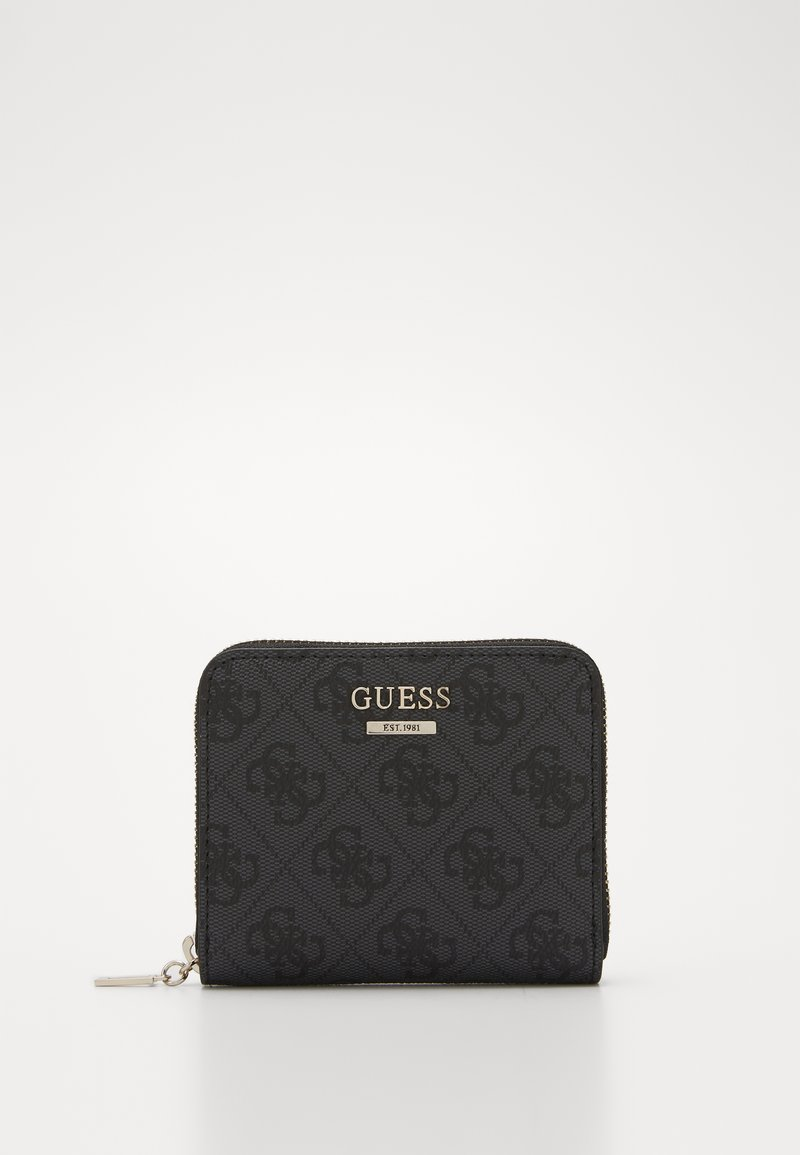 Guess - CATHLEEN SMALL ZIP AROUND - Wallet - coal