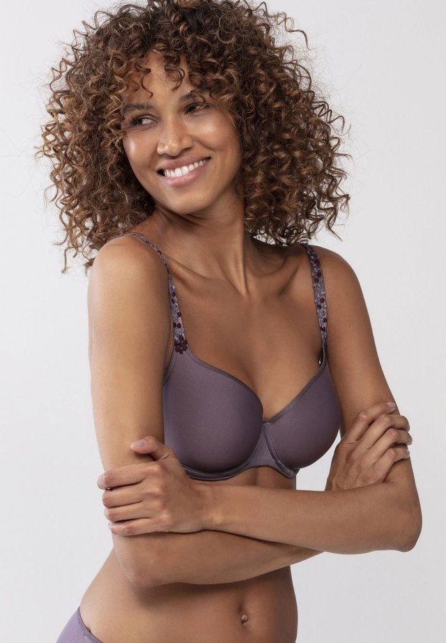 Underwired bra - smokey rose