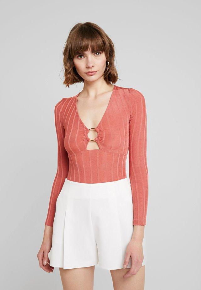 PHOENIX - Long sleeved top - dusty pink
