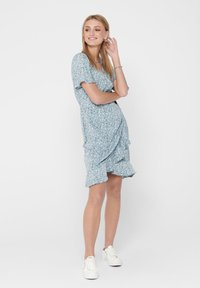 ONLY - ONLOLIVIA  - Robe d'été - dusk blue - 1