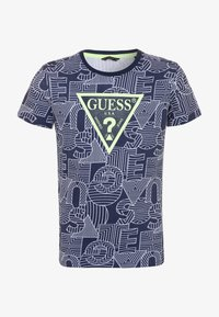 Guess - JUNIOR - Camiseta estampada - blue - 0