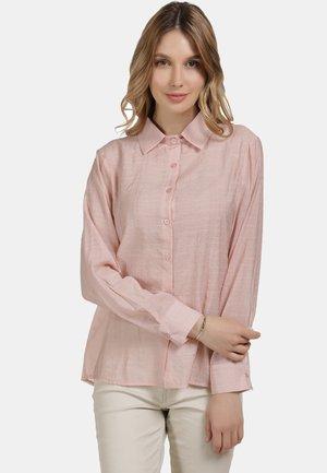 KLASSISCHE BLUSE - Button-down blouse - pink