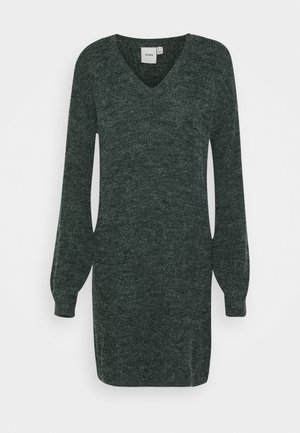NOVO DRESS - Jumper dress - darkest spruce