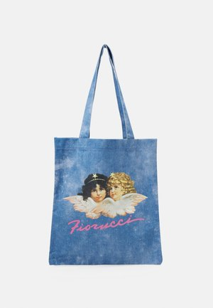 ACID WASH ANGELS TOTE UNISEX - Shopping bags - blue