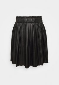 ONLMIE PLEAT SKIRT - Mini skirt - black