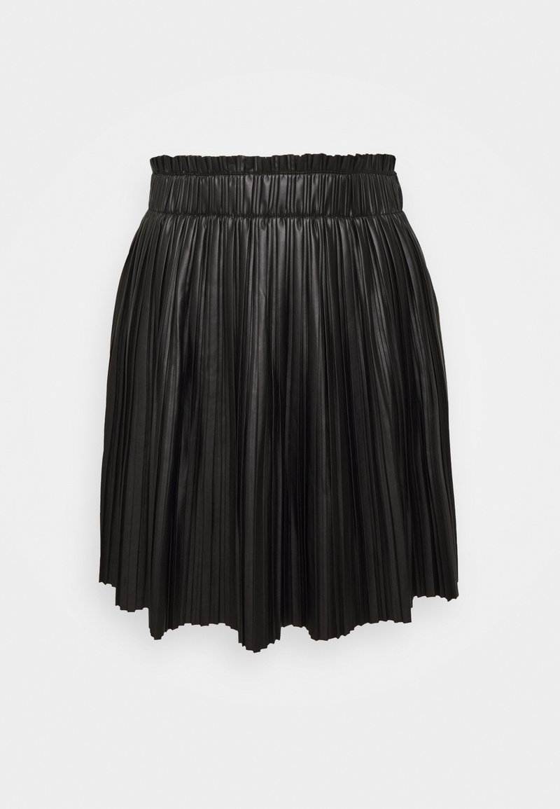 ONLY - ONLMIE PLEAT SKIRT - Mini skirt - black
