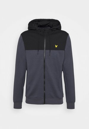 COLOUR BREAKER TECH  - Zip-up hoodie - observer grey