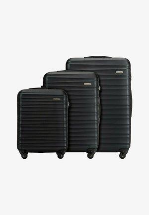 GROOVE LINE SET - Luggage set - schwarz