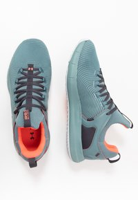 Under Armour - HOVR RISE  - Sports shoes - lichen blue - 1