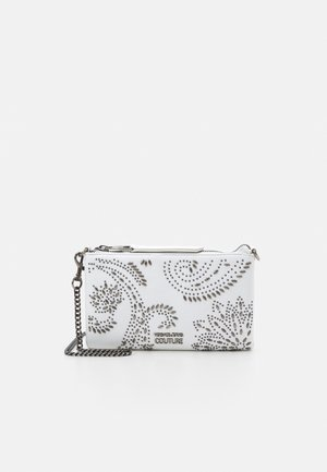 CHAIN WALLET POUCH PAISLEY STUD - Clutch - bianco ottico