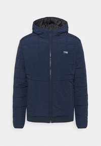 Jack & Jones - JCOMAGIC TWIST QUILTED JACKET HOOD - Light jacket - navy blazer - 0