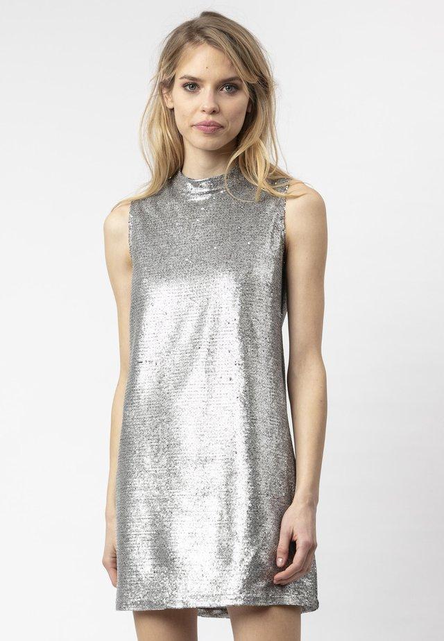 Cocktailjurk - silver