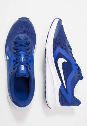 DOWNSHIFTER 10 - Zapatillas de running neutras - deep royal blue/white/hyper blue