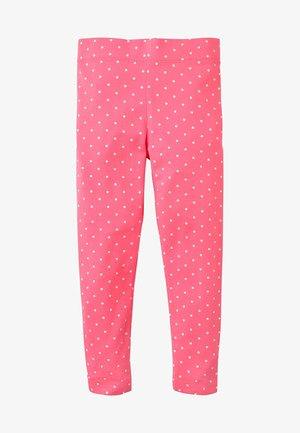 Leggings - Trousers - helles pink/naturweiß, getupft