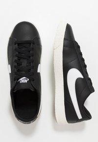 Nike Sportswear - BLAZER - Trainers - black/white/sail/light brown - 0