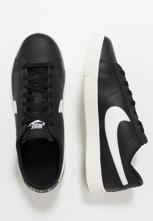 BLAZER - Sneakers laag - black/white/sail/light brown
