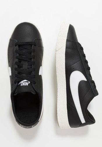 BLAZER - Sneakers basse - black/white/sail/light brown