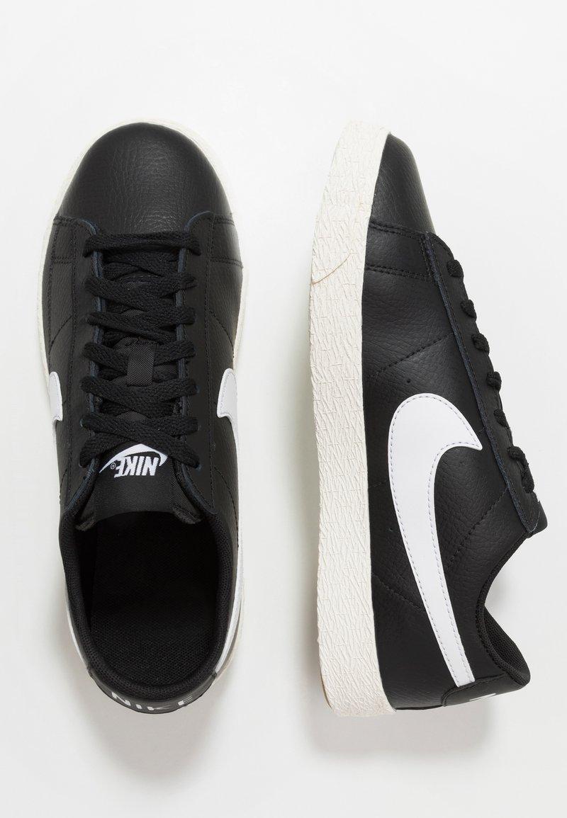 Nike Sportswear - BLAZER - Trainers - black/white/sail/light brown