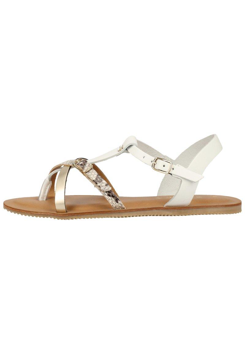 Scapa - SCAPA ZEHENSTEG - Sandals - wit / blanc 100