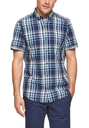 Shirt - blue/white check