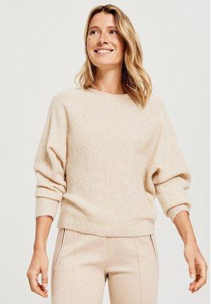 Sweter - soft cream