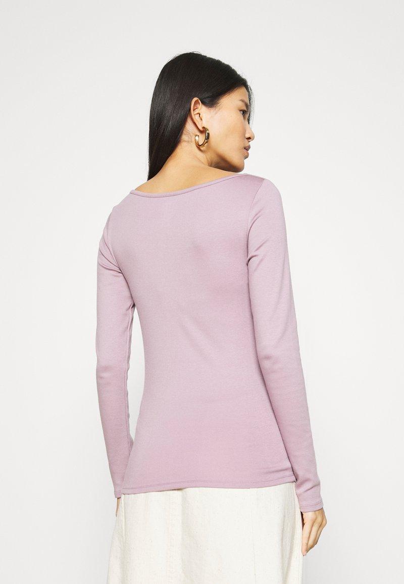 GAP - BATEAU - Long sleeved top - elderberry