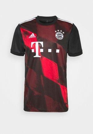 FC BAYERN MUENCHEN AEROREADY FOOTBALL - Klubové oblečení - black