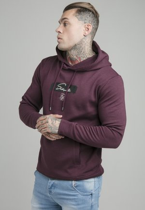 OVERHEAD HOODIE - Camiseta de manga larga - burgundy
