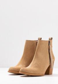Sixtyseven - NALE - Boots à talons - milda sand/rabat sand - 4