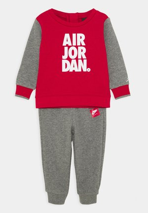 JUMPMAN CREW SET - Träningsset - carbon heather