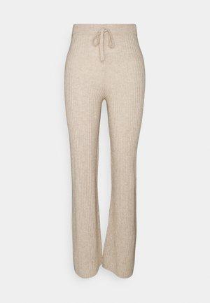 LONG PANTS - Kalhoty - oatmeal