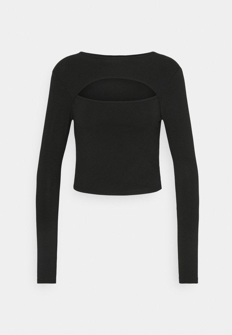 ONLY Petite - ONLLIVE LOVE DETAIL - Long sleeved top - black