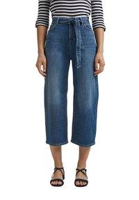 Esprit - Straight leg jeans - blue dark washed - 0