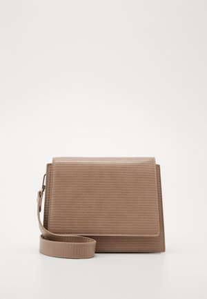 PCHOLLYA CROSS BODY KEY - Axelremsväska - beige