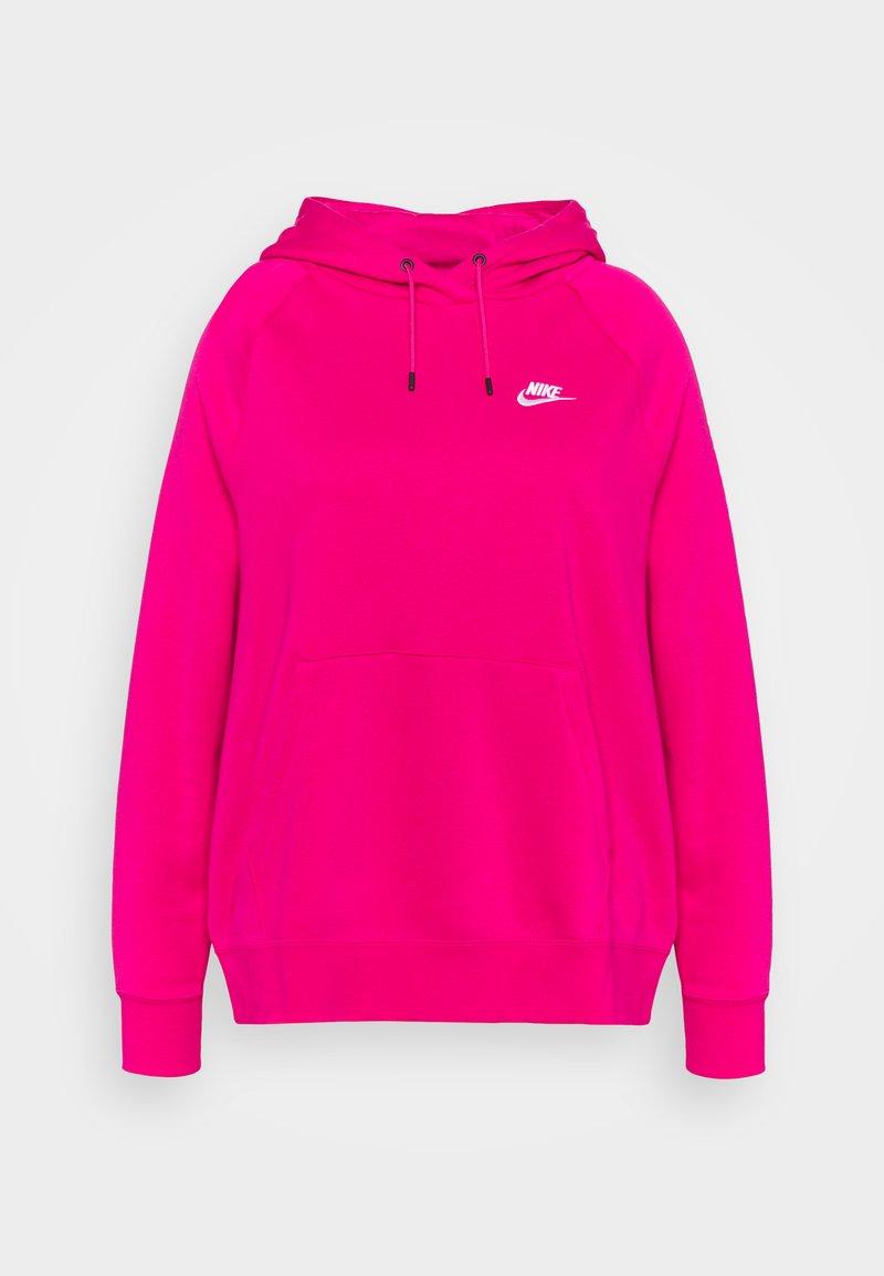 Nike Sportswear - HOODIE PLUS - Jersey con capucha - fireberry