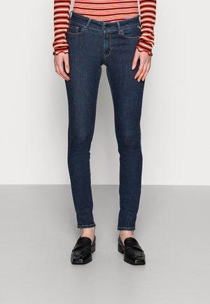 LUZ PANTS - Skinny-Farkut - dark blue