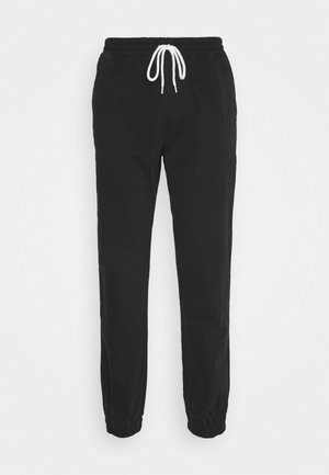 ROCHESTER ACID WASH PANT - Tracksuit bottoms - black