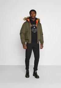 Schott - POWELL - Winter jacket - kaki - 1