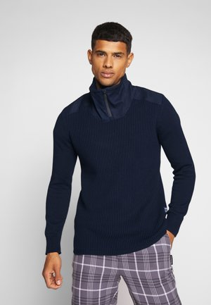 DAST HALF ZIP - Pullover - sartho blue