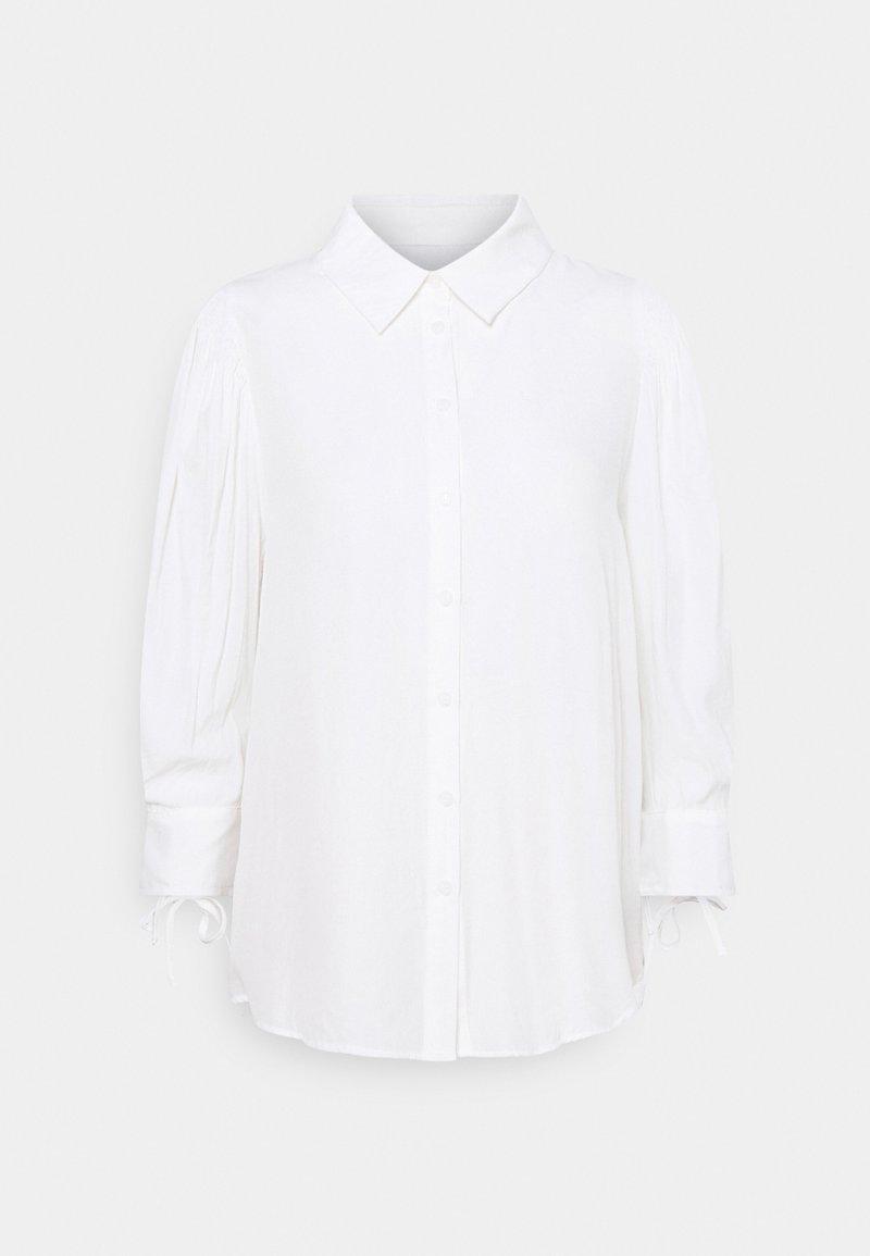 Cream - EMILY - Button-down blouse - snow white