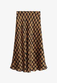 Mango - SABI - A-line skirt - karamell - 6