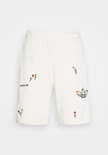 FLORAL UNISEX - Shorts - off-white